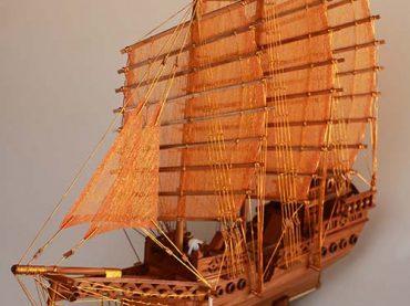 เรือสำเภาจีน สมัยรัชกาลที่ 2 และสมัยรัชกาลที่ 5 ไซส์ S