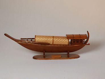 เรือจำลอง เรือหางแมงป่อง สมัยรัชกาลที่ 5